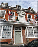 SP0957 : Churchill House Henley Street by Jo Turner