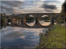 NY9170 : River North Tyne, Chollerford Bridge by David Dixon