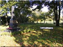 SO8483 : Kinver Cenotaph by Gordon Griffiths