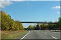 TQ4870 : Footbridge over A20 by Robin Webster