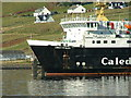 NG3863 : MV Lord of the Isles at Uig Pier by Dave Fergusson