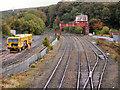NY9464 : Railway at Hexham by David Dixon