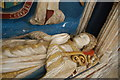 SU8504 : Effigy of Bishop Robert Sherburne, Chichester Cathedral by Julian P Guffogg