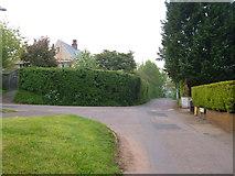 SX9886 : Road junction, Exton by Derek Harper