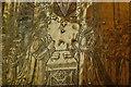 SU8504 : Brass to William & Alice Bradbridge (detail) by Julian P Guffogg