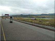SH5752 : Rhyd-Ddu Station by Chris Allen