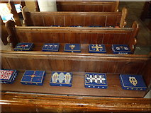 SY7699 : Inside St Martin, Cheselbourne (I) by Basher Eyre