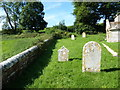 SY7699 : St Martin, Cheselbourne: churchyard (h) by Basher Eyre