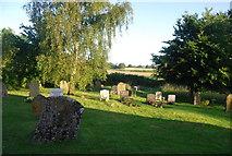 TG1508 : Churchyard, Bawburgh by N Chadwick