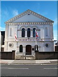 J2664 : Lisburn Orange Hall by Eric Jones