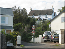SX9473 : The Oak Cottage seen from Paradise Road by Robin Stott