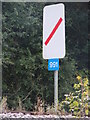 TM3863 : Railway distance marker by Adrian Cable
