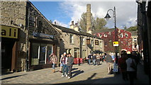 SD9927 : Bridge Gate, Hebden Bridge by Steven Haslington