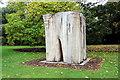 TQ1876 : David Nash Tree Sculpture, Kew Gardens, London by Christine Matthews