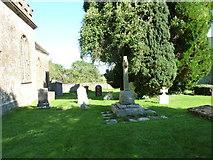 ST5707 : Melbury Osmond Churchyard (5) by Basher Eyre