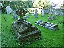 ST5707 : Melbury Osmond Churchyard (10) by Basher Eyre