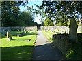 ST5707 : Melbury Osmond Churchyard (11) by Basher Eyre