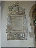 ST5707 : Melbury Osmond Church: memorial (b) by Basher Eyre