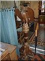ST5707 : Inside Melbury Osmond Church  (III) by Basher Eyre