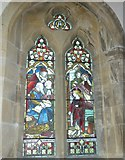 ST5707 : Melbury Osmond Church: stained glass window  (iv) by Basher Eyre