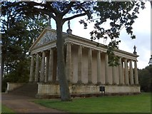 SP6737 : Temple of Concord and Victory at Stowe Park by David Smith