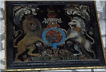 SY5697 : SS Andrew & Peter, Toller Porcorum: coat of arms by Basher Eyre