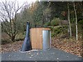NY7876 : Waterless toilet, Stonehaugh Forest Picnic Site by Oliver Dixon
