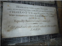 SY5697 : SS Andrew & Peter, Toller Porcorum: memorial (iii) by Basher Eyre