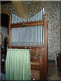 SY5697 : SS Andrew & Peter, Toller Porcorum: organ by Basher Eyre