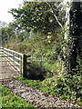 SP8525 : Gate on the path to Littlecote by Philip Jeffrey