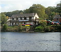SO1839 : Wye Valley Canoe Centre, Glasbury by Jaggery