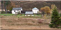NN7754 : Buildings south of Loch Kinardochy by Trevor Littlewood