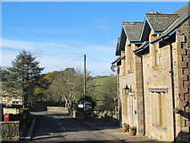 NY6366 : Gilsland village main street (3) by Mike Quinn
