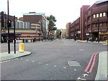 TQ3279 : Junction of Marshalsea Road and Borough High Street by Helen Steed