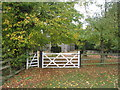 TA2923 : The entrance to the churchyard, Winestead by Jonathan Thacker