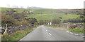 SH5053 : Approaching river bridge in Dyffryn Nantlle by John Firth