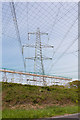 SU6010 : Overhead Line Refurbishment on B2177 at North Boarhunt by Peter Facey
