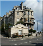 ST7465 : Corner of Camden Row and Camden Crescent, Bath by Jaggery
