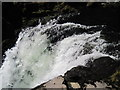 NY3403 : Top  of  Skelwith  Force by Martin Dawes