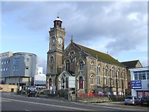 SZ0991 : East Cliff United Reformed Church, Bournemouth by Malc McDonald