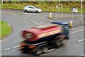 J1953 : Slip roads, Dromore bypass by Albert Bridge