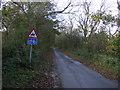 TA1467 : Woldgate (Roman Road) heading west  by JThomas