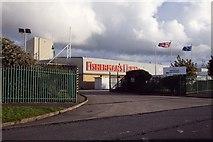 SD3246 : The Fisherman's Friend factory on Copse Road by Steve Daniels