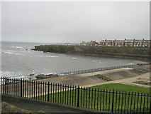 NZ3671 : Brown's Bay at Cullercoats by peter robinson