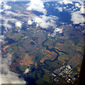 NZ2479 : Bedlington and Blyth from the air by Thomas Nugent