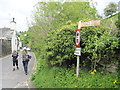 NY3703 : Old  Lake  Road  at  the  junction  with  Skelghyll  Lane by Martin Dawes