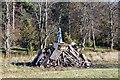 NT2540 : Bonfire and guy, Victoria Park, Peebles by Jim Barton