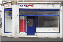 HU4741 : Former premises of Sandy's Taxis, Commercial Street, Lerwick by Mike Pennington