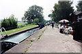 SJ5345 : Willey Moor Lock Llangollen Canal by Jo Turner