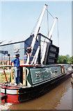 SJ5848 : Wrenbury Lift Bridge Llangollen Canal by Jo Turner